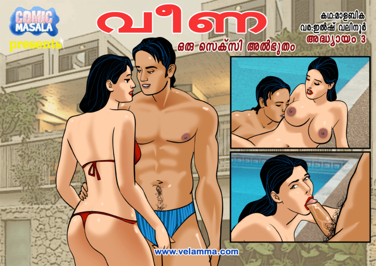 Cover page of Veena episode 3